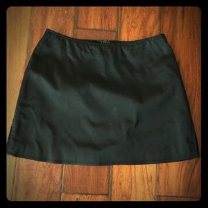 French Connection Black mini skirt